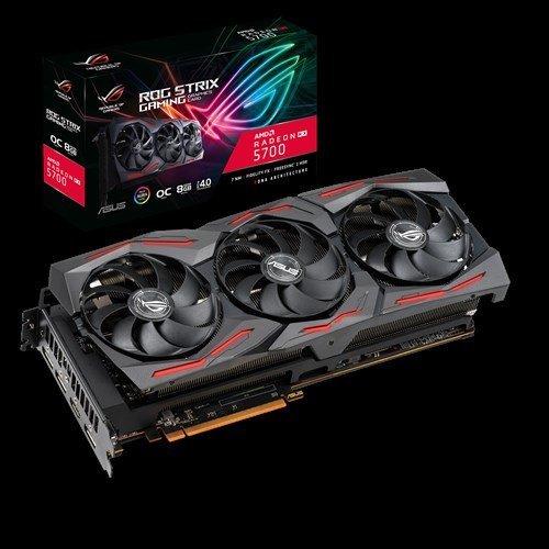 Видео карта AMD ASUS OG Strix Radeon RX 5700 OC edition 8GB GDDR6 (снимка 1)