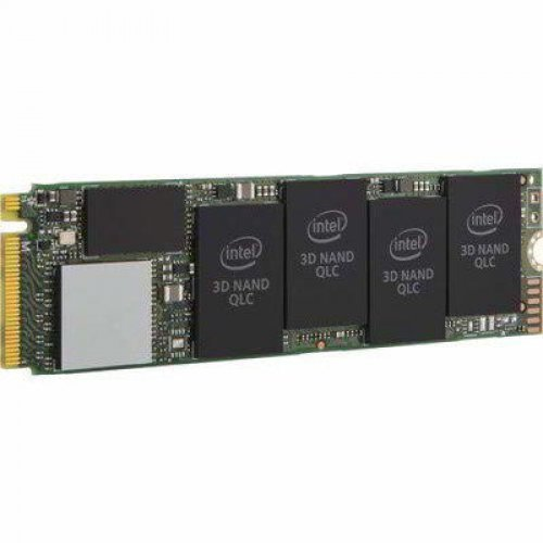 SSD Intel 1TB 660P M2, PCIE 3.0 x4, 3D2, QLC, 80mm, AES 256 bit Hardware Encryption (снимка 1)