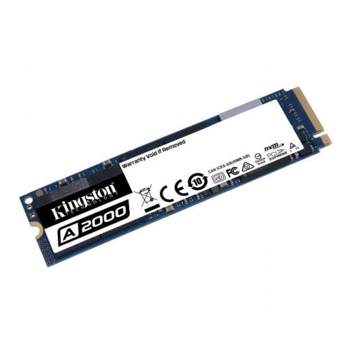 SSD KINGSTON 1TB, A2000, M.2-2280, PCIe, Nvme (снимка 1)