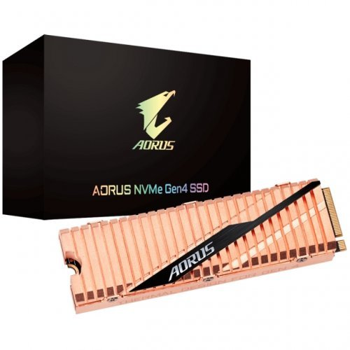SSD Gigabyte 500GB, AORUS, NVMe PCIe Gen4 (снимка 1)