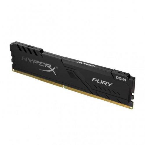 RAM памет DDR4 PC 8GB 2666MHz, Kingston HyperX Fury Black CL16 3, 1.2V, Unbuffered, Timings: 16-18-18, PC4-21300 (снимка 1)