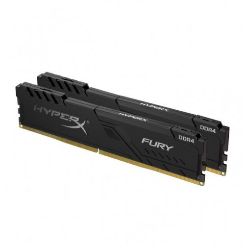 RAM памет DDR4 8GB Kit 2x4GB 3200Mhz, Kingston HyperX Fury, PC4-25600, CL16, HX432C16FB3K2/8 (снимка 1)