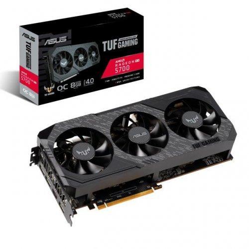 Видео карта AMD ASUS TUF Gaming X3 Radeon RX 5700 OC Edition 8GB GDDR6 (снимка 1)