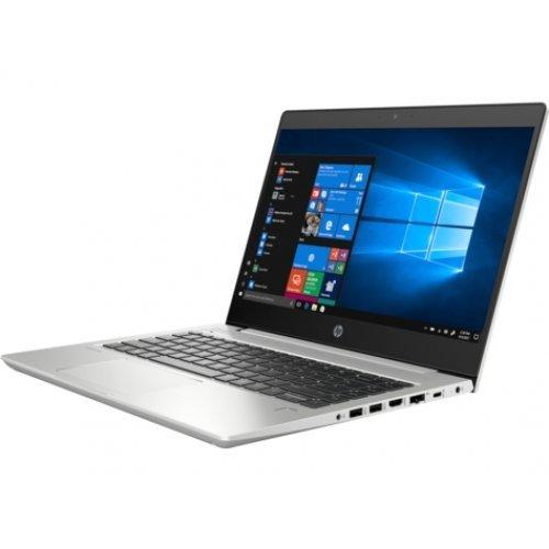 """Лаптоп HP ProBook 440 G6, сив, 14.0"""" (35.56см.) 1920x1080 (Full HD) без отблясъци IPS, Процесор Intel Core i7-8565U (4x/8x), Видео nVidia GeForce MX130/ 2GB GDDR5, 8GB DDR4 RAM, 256GB SSD диск, без опт. у-во, DOS ОС (снимка 1)"""