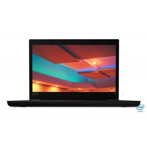"""Лаптоп Lenovo ThinkPad L490, черен, 14.0"""" (35.56см.) 1920x1080 (Full HD) без отблясъци IPS, Процесор Intel Core i7-8565U (4x/8x), Видео интегрирана, 16GB DDR4 RAM, 512GB SSD диск, без опт. у-во, Windows 10 Pro 64 ОС, Клавиатура- с БДС (снимка 1)"""