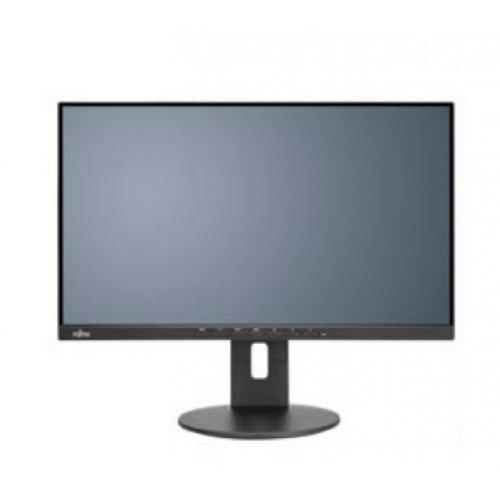 Монитор Fujitsu B24-9 TS, EU Business Line 60,5cm(23.8')wide Display Ultra Narrow Border, LED, matt black DisplayPort DP,HDMI,VGA,USB, 5-in-1 stand (снимка 1)