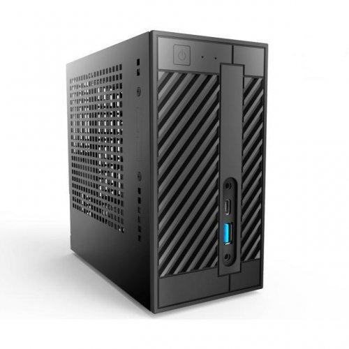 Barebone компютър Asrock Deskmini A300 AMD AM4 A300, 4GB DDR4, 240GB SSD (снимка 1)