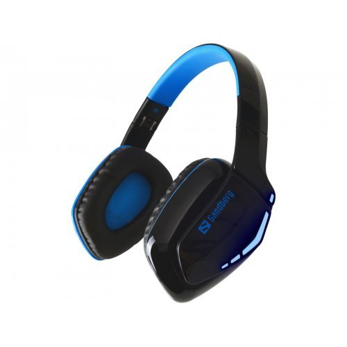 Слушалки SANDBERG SNB-126-01 Безжични геймърски слушалки Blue Storm (снимка 1)