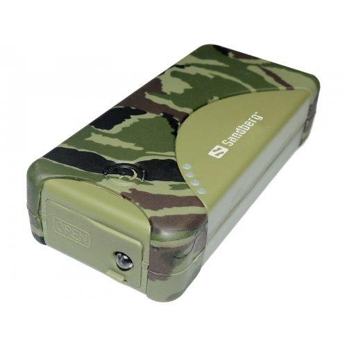 Мобилна батерия SANDBERG SNB-420-22 5200 mAh Outdoor Power Bank - резервно захранване за преносими устройства (снимка 1)