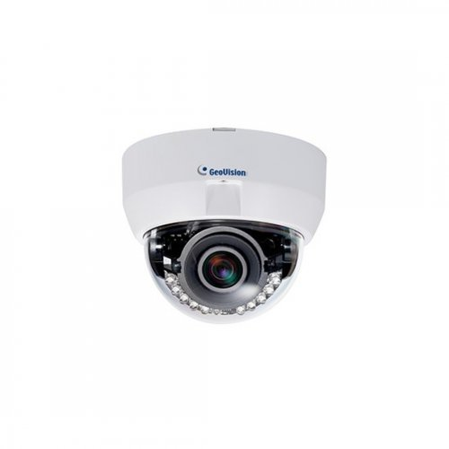 IP камера GEOVISION GV-EFD31013MP IP камера, 3.0 Mpix, Super Low Lux, 3-9 мм обектив, IR, WDR Pro, H.264, Fixed IP Dome (снимка 1)