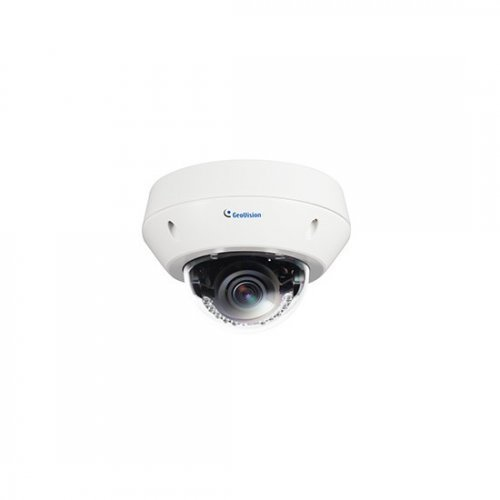 IP камера Geovision GV-EVD3100-0010 IP камера, Vandal Proof IP Dome, 3.0 Mpix, WDR, Super Low Lux, 3-9 мм обектив (снимка 1)