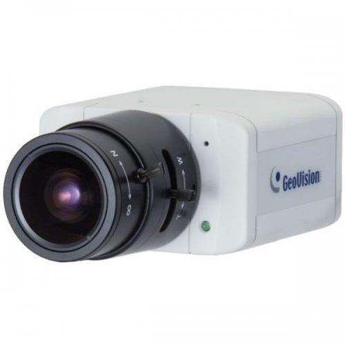IP камера GEOVISION GV-BX520D IP камера, 5 Mpix, Day-Night Box, 4.5 - 10 мм обектив, PoE, H.264 (снимка 1)