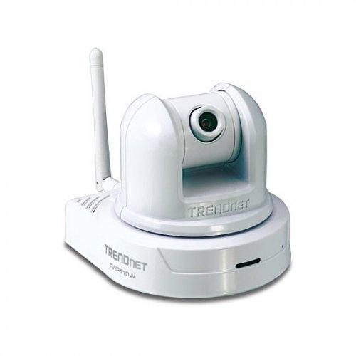 IP камера TRENDnet TV-IP410W Безжична IP камера с Pan/Tilt/Zoom (снимка 1)