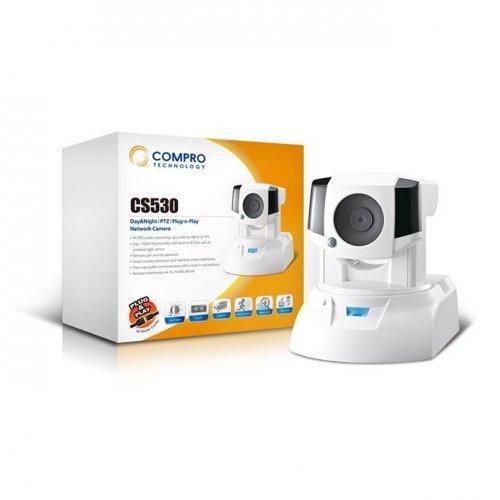IP камера Compro CS530 Day-Night PTZ IP охранителна камера, MJPEG, 30fps VGA (снимка 1)