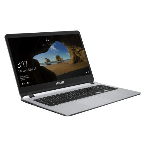 "Лаптоп Asus X507MA-EJ301, Intel Quad-Core Pentium N5000 (up to 2.7GHz, 4MB), 15.6"" FHD (1920x1080) AG, Web Cam, 4GB DDR4, HDD SSD 256GB 2.5"" SATA, Intel HD Graphics, ENDLESS, Gray (снимка 1)"