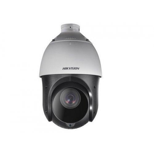 IP камера HikVision DS-2DE4225IW-DE; Управляема IP PTZ камера с IR осветление; Ден/Нощ; 2.0 MP (FullHD 1920×1080@30 к/с); 25X оптично/16X цифр. увеличение (обектив 4.8~120 мм); механичен IR филтър; H.265+; 3D DNR шумов филтър; 120dB WDR; Defog/EIS/HLC; аудио вход/изход; алармен вход/изход; RS-485 (Pelco P/D); ANR; слот за micro SDXC (до 256GB); за външен монтаж (IP66), гръмозащита (TVS4000V), PoE+ (снимка 1)