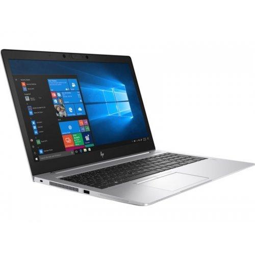 "Лаптоп HP EliteBook 850 G6, сребрист, 15.6"" (39.62см.) 1920x1080 (Full HD) без отблясъци, Процесор Intel Core i7-8565U (4x/8x), Видео AMD Radeon RX 550X/ 2GB GDDR5, 16GB DDR4 RAM, 512GB SSD диск, без опт. у-во, Windows 10 Pro 64 ОС, Клавиатура- светеща с БДС (снимка 1)"