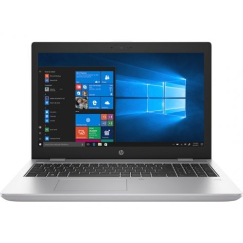 "Лаптоп HP ProBook 650 G5 15, сив, 15.6"" (39.62см.) 1920x1080 (Full HD) IPS, Процесор Intel Core i5-8265U (4x/8x), Видео Intel UHD 620, 8GB DDR4 RAM, 512GB SSD диск, DVDRW, Windows 10 Pro 64 ОС (снимка 1)"