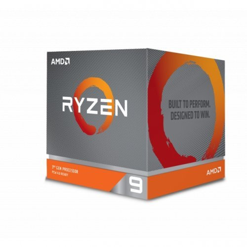 Процесор AMD Ryzen 9 3900X (12c/24t), s. AM4, Box, with Cooler, no VGA, 3.8- 4.6GHz, 70MB L3 Cashe, TDP 105W, 7nm, Zen 2 (снимка 1)