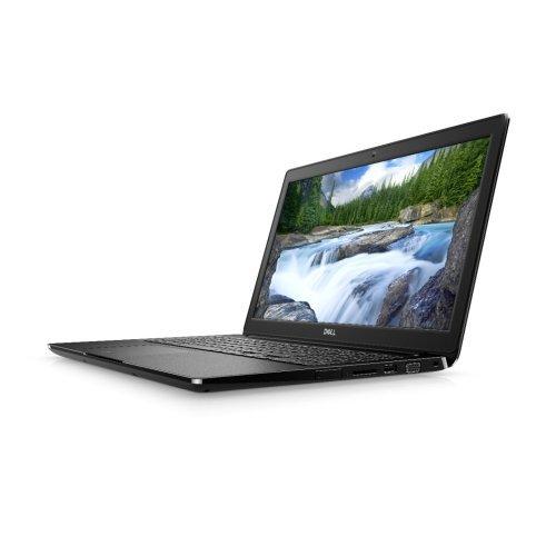 """Лаптоп Dell Latitude 15 3500, черен, 15.6"""" (39.62см.) 1920x1080 (Full HD) без отблясъци, Процесор Intel Core i3-8145U (2x/4x), Видео Intel UHD 620, 8GB DDR4 RAM, 256GB SSD диск, без опт. у-во, Linux Ubuntu 18.04 ОС, Клавиатура- светеща (снимка 1)"""