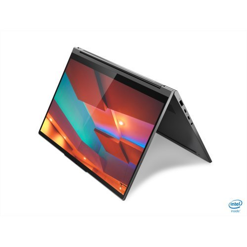 "Лаптоп Lenovo Yoga C940, сив, 14.0"" (35.56см.) 3840x2160 (4K Ultra HD) IPS тъч, Процесор Intel Core i7-1065G7 (4x/8x), Видео Intel Iris, 16GB DDR4 RAM, 1TB SSD диск, без опт. у-во, Windows 10 64 ОС, Клавиатура- с БДС (снимка 1)"