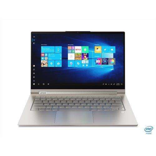 """Лаптоп Lenovo Yoga C940, златист, 14.0"""" (35.56см.) 1920x1080 (Full HD) IPS тъч, Процесор Intel Core i7-1065G7 (4x/8x), Видео Intel Iris, 8GB DDR4 RAM, 512GB SSD диск, без опт. у-во, Windows 10 64 ОС, Клавиатура- с БДС (снимка 1)"""