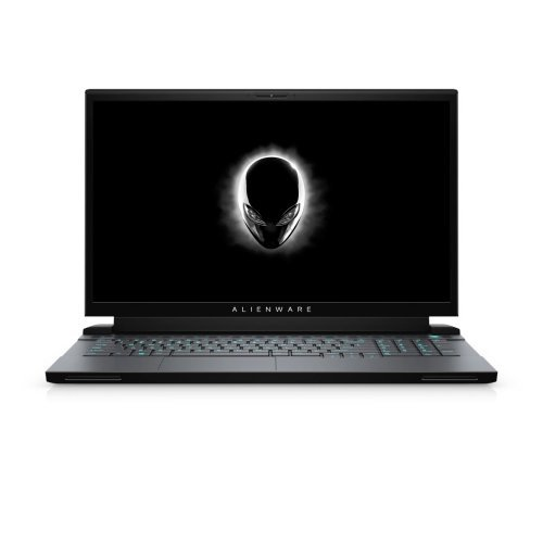 "Лаптоп Dell Alienware m17 R2, Intel Core i7-9750H (12MB Cache, up to 4.5GHz), 17.3"" FHD (1920 x 1080) 60Hz IPS AG, 16GB 2x8 DDR4 2666MHz, 1TB M.2 PCIe NVMe SSD, NVIDIA GeForce RTX 2080 8GB GDDR6, 802.11ac, BT 4.2, MS Win 10, Dark Side of the Moon (снимка 1)"