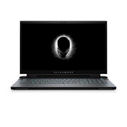 "Лаптоп Dell Alienware m17 R2, Intel Core i7-9750H (12MB Cache, up to 4.5GHz), 17.3"" FHD (1920 x 1080) 144Hz IPS AG, 16GB 2x8 DDR4 2666MHz, 2TB M.2 PCIe NVMe SSD, NVIDIA GeForce RTX 2080 8GB GDDR6, 802.11ac, BT 4.2, MS Win 10, Dark Side of the Moon (снимка 1)"
