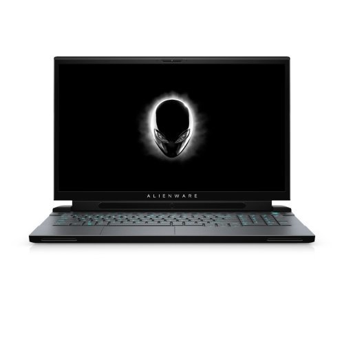 "Лаптоп Dell Alienware m17 R2, Intel Core i7-9750H (12MB Cache, up to 4.5GHz), 17.3"" FHD (1920 x 1080) 144Hz IPS AG, 16GB 2x8 DDR4 2666MHz, 512GB M.2 PCIe NVMe SSD, NVIDIA GeForce RTX 2080 8GB GDDR6, 802.11ac, BT 4.2, MS Win 10, Dark Side of the Moon (снимка 1)"
