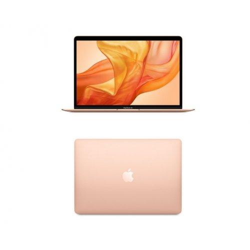 """Лаптоп Apple Macbook Air, златист, 13.3"""" (33.78см.) 2560x1600 (WQXGA) лъскав, Процесор Intel Core i5-8210Y (2x/4x), Видео Intel UHD 617, 8GB LPDDR3 RAM, 256GB SSD диск, без опт. у-во, MacOS X Sierra ОС, Клавиатура- светеща (снимка 1)"""