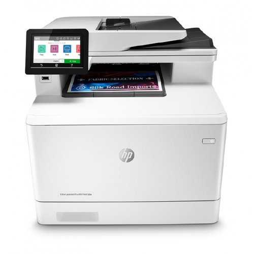 Принтер HP Color LaserJet Pro MFP M479fdw Printer (снимка 1)