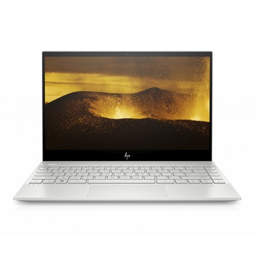 "Лаптоп HP ENVY 13-aq0010nu, сребрист, 13.3"" (33.78см.) 1920x1080 (Full HD) IPS, Процесор Intel Core i7-8565U (4x/8x), Видео Intel UHD 620, 8GB DDR4 RAM, 512GB SSD диск, без опт. у-во, Windows 10 64 ОС (снимка 1)"