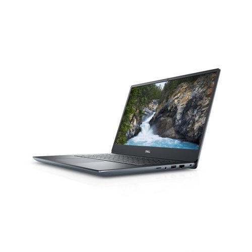 "Лаптоп Dell Vostro 5490, Intel Core i7-10510U (up to 4.9 GHz, 8MB), 14"" FullHD (1920x1080) Anti-Glare, HD Cam, 8GB 2666MHz DDR4, 256GB SSD,NVIDIA GeForce MX250 Graphics with 2GB GDDR5 vRAM , 802.11ac, BT 4.0, Backlit Keyboard, Win 10 Pro, Silver (снимка 1)"
