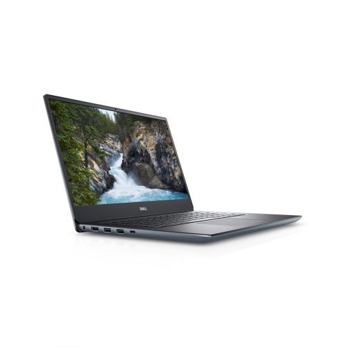"Лаптоп Dell Vostro 5490, Intel Core i7-10510U (up to 4.9 GHz, 8MB), 14"" FullHD (1920x1080) Anti-Glare, HD Cam, 16GB 2666MHz DDR4, 512GB SSD,NVIDIA GeForce MX250 Graphics with 2GB GDDR5 vRAM , 802.11ac, BT 4.0, Backlit Keyboard, Linux, Silver (снимка 1)"