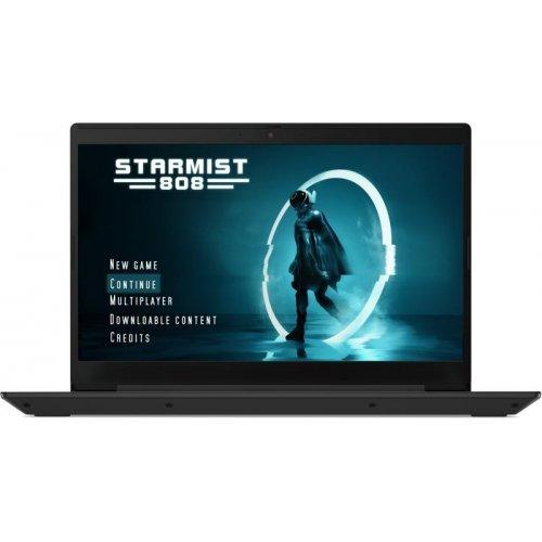 """Лаптоп Lenovo L340-15IR, черен, 15.6"""" (39.62см.) 1920x1080 (Full HD) без отблясъци TN, Процесор Intel Core i7-9750H (6x/12x), Видео nVidia GeForce GTX 1050/ 3GB GDDR5, 8GB DDR4 RAM, 256GB SSD диск, без опт. у-во, без ОС (снимка 1)"""