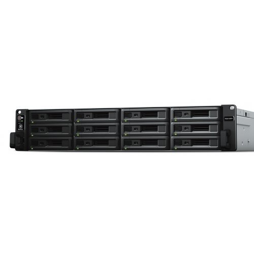 NAS сървър Synology RS2418+, Rackmount 24-bay NAS Server; 12 bays on base, expandable to 24 with RX1217/RX1217RP (снимка 1)