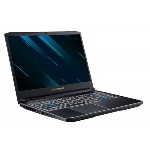 "Лаптоп Acer PH315-52-75VP, черен, 15.6"" (39.62см.) 1920x1080 (Full HD) без отблясъци IPS, Процесор Intel Core i7-9750H (6x/12x), Видео nVidia GeForce RTX 2060/ 6GB GDDR6, 16GB DDR4 RAM, 1TB HDD + 256GB SSD диск, без опт. у-во, Windows 10 64 ОС (снимка 1)"
