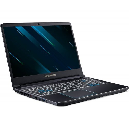 "Лаптоп Acer PH317-53-75ZA, черен, 17.3"" (43.94см.) 1920x1080 (Full HD) IPS, Процесор Intel Core i7-9750H (6x/12x), Видео nVidia GeForce GTX 1660Ti/ 6GB GDDR6, 16GB DDR4 RAM, 1TB HDD + 512GB SSD диск, без опт. у-во, Windows 10 ОС (снимка 1)"