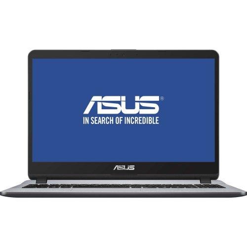 """Лаптоп Asus X507UA-EJ893, син, 15.6"""" (39.62см.) 1920x1080 (Full HD) без отблясъци, Процесор Intel Pentium Gold 4417U (2x/4x), Видео Intel UHD 620, 4GB DDR4 RAM, 1TB HDD диск, без опт. у-во, Endless Linux ОС (снимка 1)"""