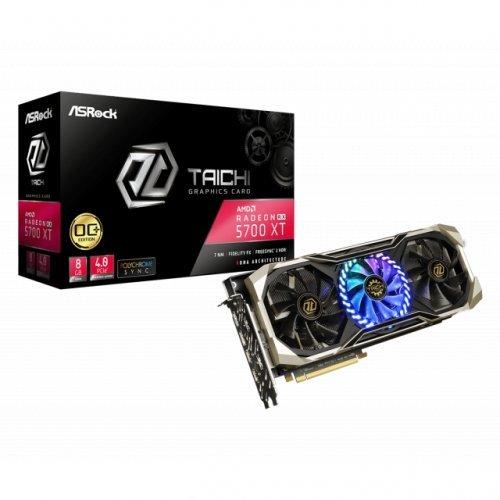 Видео карта AMD Asrock Radeon RX 5700 XT Taichi X 8G OC+ (снимка 1)