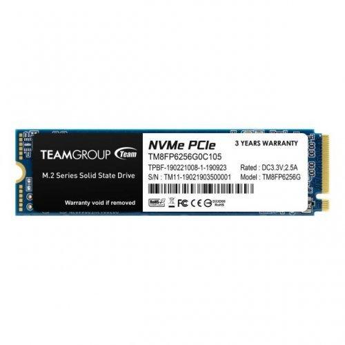 SSD Team Group 256GB MP33, M.2 2280 PCI-e 3.0 x4 NVMe (снимка 1)