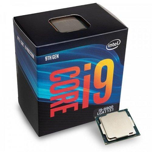 Процесор Процесор Intel Coffee Lake Core i9-9900 3.10GHz (up to 5.00GHz), 16MB, 65W,  LGA1151 (300 Series) (снимка 1)