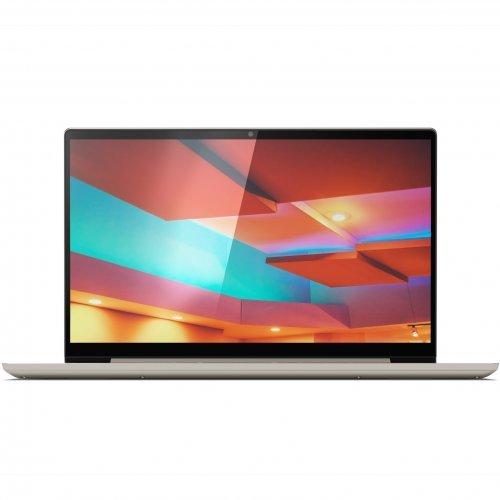 "Лаптоп Lenovo Yoga S740-14IIL, златист, 14.0"" (35.56см.) 1920x1080 (Full HD) IPS, Процесор Intel Core i5-1035G4 (4x/8x), Видео интегрирана, 8GB DDR4 RAM, 512GB SSD диск, без опт. у-во, Windows 10 64 ОС, Клавиатура- с БДС (снимка 1)"