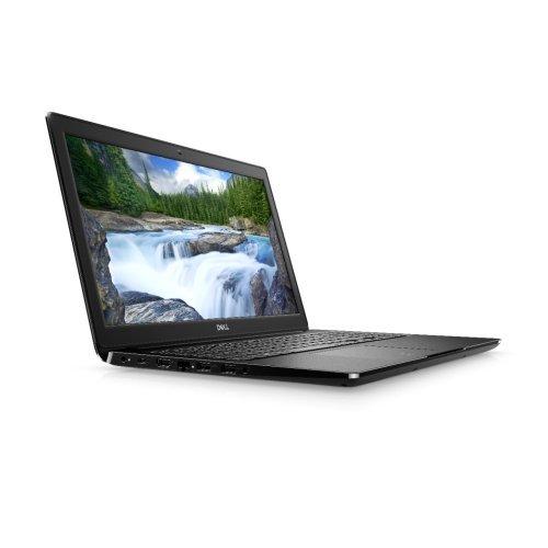 """Лаптоп Dell Latitude 15 3500, черен, 15.6"""" (39.62см.) 1920x1080 (Full HD) без отблясъци, Процесор Intel Core i5-8265U (4x/8x), Видео Intel UHD 620, 8GB DDR4 RAM, 256GB SSD диск, без опт. у-во, Linux Ubuntu 18.04 ОС, Клавиатура- светеща (снимка 1)"""