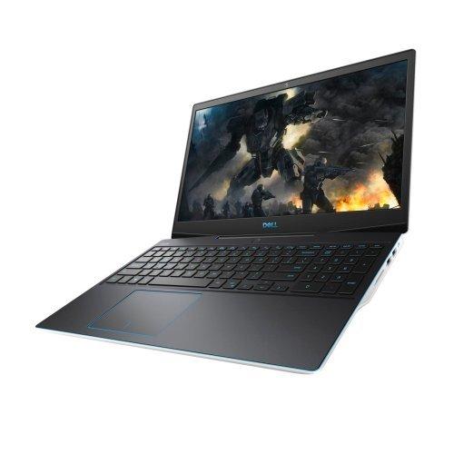 "Лаптоп Dell G3 15 3590, бял, 15.6"" (39.62см.) 1920x1080 (Full HD) без отблясъци IPS, Процесор Intel Core i5-9300H (4x/8x), Видео nVidia GeForce GTX 1650/ 4GB GDDR5, 8GB DDR4 RAM, 512GB SSD диск, без опт. у-во, Windows 10 64 English ОС, Клавиатура- светеща (снимка 1)"