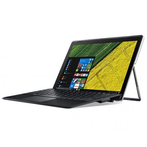 "Лаптоп Acer Switch 3 SW312-31-P0M1, сив, 12.2"" (30.99см.) 1920x1200 (WUXGA) лъскав, Процесор Intel Pentium Quad-Core N4200, Видео Intel HD 505 Gen 9, 4GB LPDDR3 RAM, 128GB SSD диск, без опт. у-во, Windows 10 64 ОС, Клавиатура- с БДС (снимка 1)"