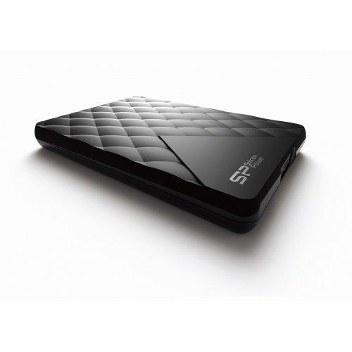 """Външен твърд диск SILICON POWER Diamond D06, 2.5"""", 1TB, USB3.0, подарък Blaze B20 8GB (снимка 1)"""