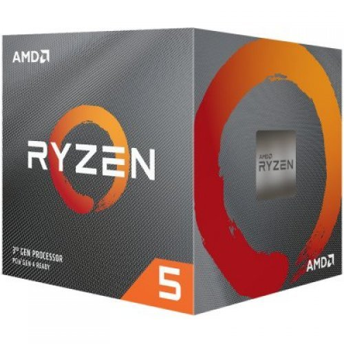 Процесор AMD Ryzen 5 6C/12T 1600 (3.2/3.6GHz Boost,19MB,65W,AM4) box, with Wraith Stealth cooler (снимка 1)
