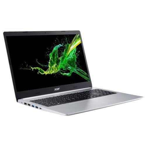 """Лаптоп Acer Aspire 5 A515-54G-576K, сребрист, 15.6"""" (39.62см.) 1920x1080 (Full HD) без отблясъци IPS, Процесор Intel Core i5-10210U (4x/8x), Видео nVidia GeForce MX250/ 2GB GDDR5, 8GB DDR4 RAM, 1TB HDD диск, без опт. у-во, Linux ОС, Клавиатура- с БДС (снимка 1)"""