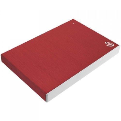 Външен твърд диск Seagate Backup Plus Slim, 2TB, STHN2000403, red (снимка 1)